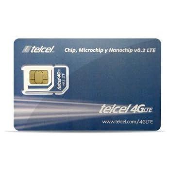Telcel Mexico Prepaid Basic SIM Card Universal SIM