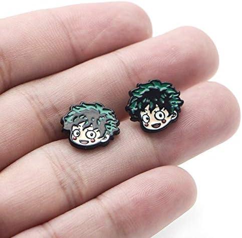 Brozen My Hero Academia Hollow Out Ring Metal Jewelry Cosplay Otaku Men 18mm