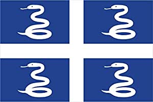 magFlags XXS Flag Martinique | landscape flag | 0.24m² | 2.5sqft | 40x60cm | 1.3x2foot - 100% Made in Germany - long lasting outdoor flag