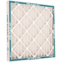 FLANDERS 80255.012020 12 Piece MERV 8 Pre-Pleat 40 Lpd High-Capacity Air Filter, 20 by 20 by 1