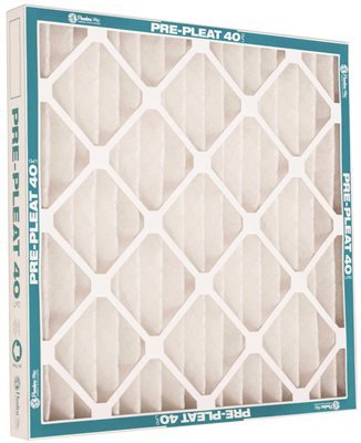 FLANDERS 80255.02162 Merv 8 Pre-Pleat 40 Lpd High-Capacity Air Filter, 16X20X2 in, 12 Per Case Humidifier Replacement by Flanders