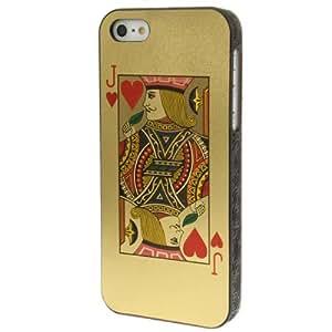 """Iphone 5/5S : Case cubierta de plástico protector """"Card Games"""""""