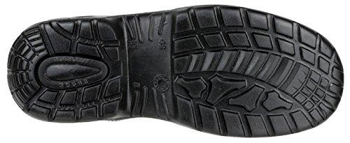 Scarpa alta S3 BASE PROTECTION in pelle fiore con puntale e lamina