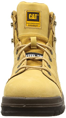 Di Caterpillar Sb Leather Hi Brown honey Mesh And Mesh Boots reset Safety Men's And RRASY