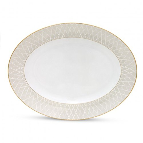 (Waterford Monique Cherish Medium Oval Platter 13.5 in.)