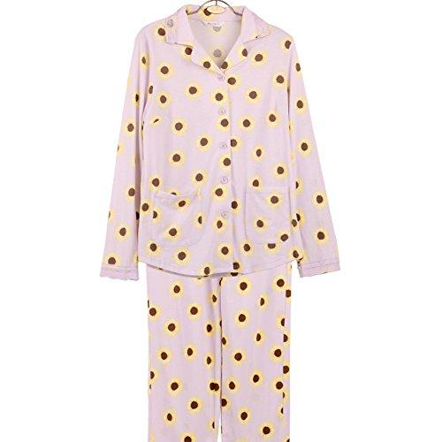 B morbida cotone Pigiama Stampati yukata pigiama di tuta autunno di qcRxUnzA