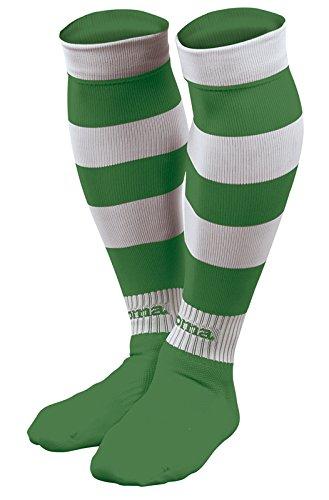 Joma Zebra Medias de Juego, Hombre, Verde/Blanco, S