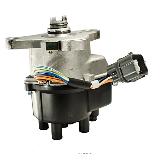 (Ignition Distributor with Rotor Cap Coil for Acura Integra Honda Civic Si Sir Del Sol VTEC#TD81U & TD84U & TD86U & TD87U)
