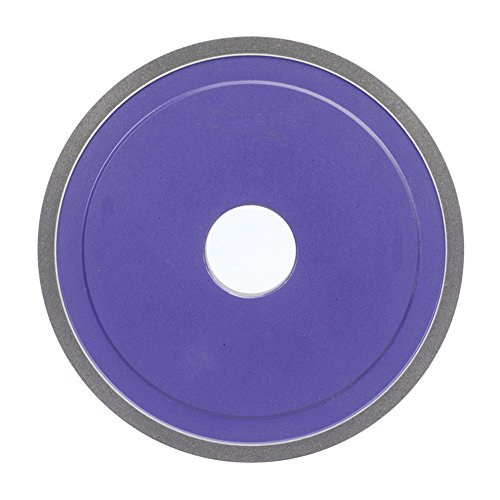 Norton CBN Wheel 7'' Diameter 1/2'' Width 120 Grit Roughing Application D1A1 CBN Wheel by Norton Abrasives - St. Gobain