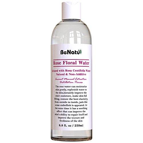 Benatu Rose Water Organic Face Toner + FREE Compressed Facia