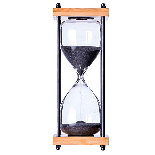 Large Hourglass Big Sand Timer, 30 Minute Sand