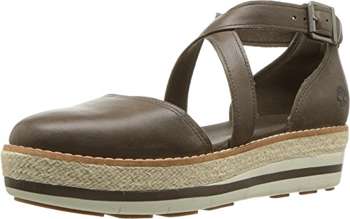Timberland Women's Emerson Point Closed Toe Sandal Olive Full Grain 9 B - Sandals Fisherman Timberland