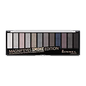 Rimmel Magnifeye's Eyeshadow Palette 12-pan, Smoke, 13.2ml