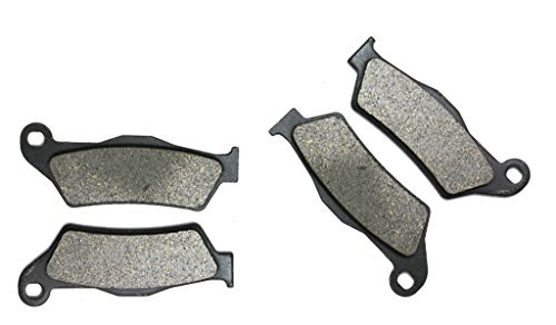 CNBK Semi Met Disc Brake Pads Set for VECTRIX Street Bike Electric std scooter 07 08 2007 2008 4 Pads