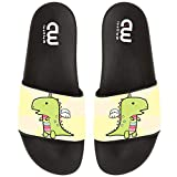 Cute Cartoon Dranicorn Dinosaur Summer Slide Slippers For Girl Boy Kid Non-Slip Sandal Shoes size 13