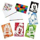 Disney Blank Note Cards Mickey Minnie Donald Goofy Pluto