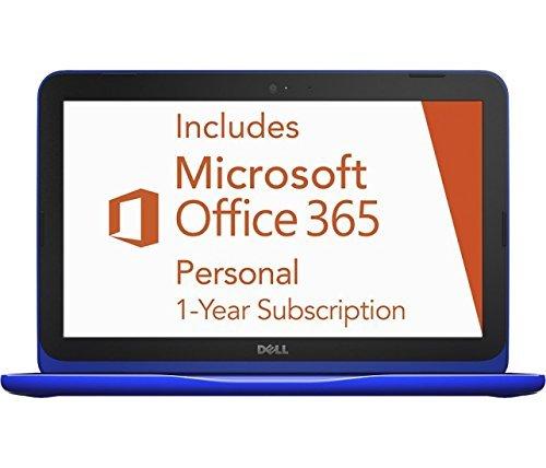 2016 Dell Inspiron 11.6' High Performance Laptop, Intel Celeron Dual-Core Processor, 2GB RAM, 32GB eMMC SSD, Webcam, WIFI, HDMI, Windows 10, 1 Year Microsoft Office 365