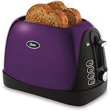Oster TSSTTRJBP1 Jelly Bean 2-Slice Toaster, Purple
