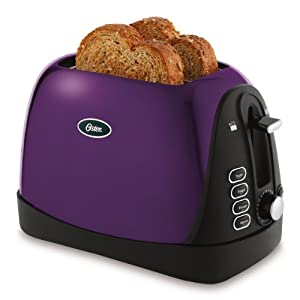 Oster Jelly Bean 2-Slice Toaster, Purple (TSSTTRJBP1)