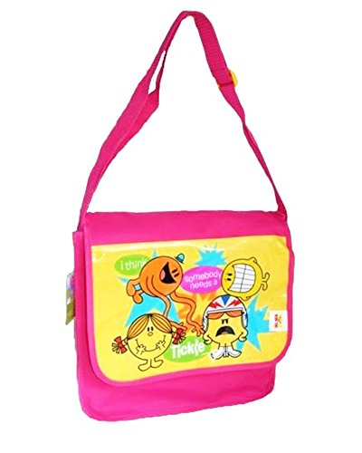 Borsa tracolla Signor Signora originale – Borsa Tracolla Mr Men Little Miss per donna –�?2 x 29 x 10 cm