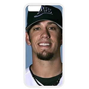 MLB iPhone 6 White Tampa Bay Devil Rays cell phone cases&Gift Holiday&Christmas Gifts NBGH6C9125523