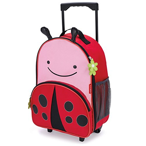 - Skip Hop Kids Luggage with Wheels, Ladybug
