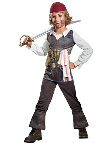 Disguise POTC5 Captain Jack Sparrow Classic Costume,