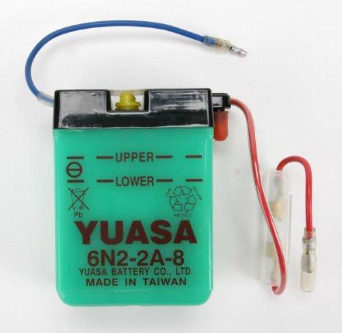 Yuasa 6 N2, 2 A 8 Starter 2A 8Starter Yuasa Battery Sales (UK) Ltd. 6N2-2A-8