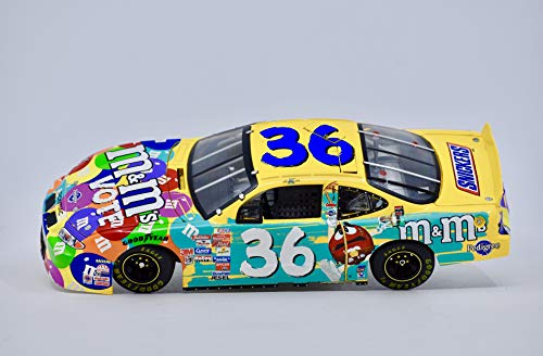 2002 - MB 2 Owners Series - Ken Schrader #36 - M&M's Racing Team - Vote Pontiac Grand Prix - 1:24 Scale Die Cast - Collectible - Numbered