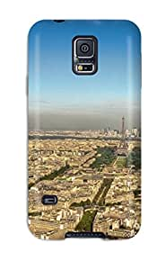 Best Defender Case For Galaxy S5, City Of Paris Pattern
