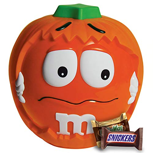 M&M'S, Snickers, 3 Musketeers & Milky Way Halloween Candy, Minis Size, Pumpkin Party Bowl, 24.45 Oz for $<!--$25.99-->