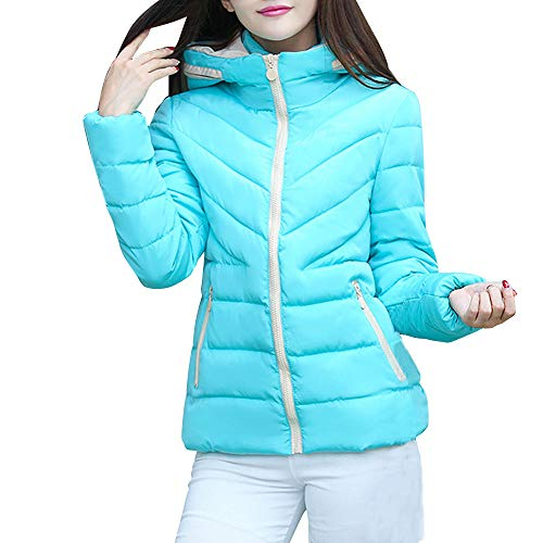 kaifongfu Lady Coat,Winter Warm Short Outwear Jacket for