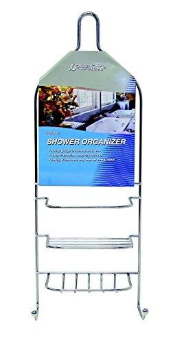 Hanging Shower Organizer Chrome Bath Caddy Bathroom Soap Holder Hanger Rack NEW by Shower Caddies