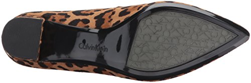 Klein Leopard Genoveva Dress Women's Pump Calvin BqdgB