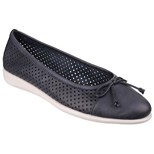 diseño con mujer Flexx perforado bailarina estilo para The Zapatos Beige d8IWqw8X