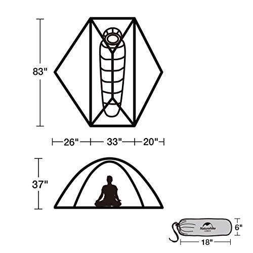 Naturehike VIK 1-Person Backpacking Tent