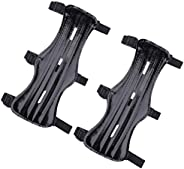 KRATARC Archery Arm Guard Adjustable 3-Strap Accessory Protective Lightweight Hunting Target Shooting Adult Un