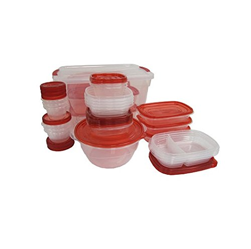 Large Product Image of Rubbermaid TakeAlongs Containter Variety Pack with Lids - 62 Pieces