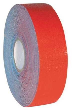 Floor Tape, Red, Solid, 3 in x 108 ft