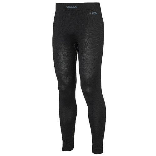 Sparco Mens Underwear (Bottom)(Black, Medium/Large), 1 Pack