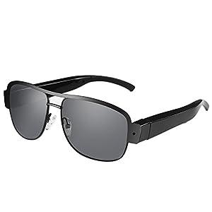 Mini Camera Glasses, Mofek 1080P HD Camera Eyeglasses Video Recorder Shoot Photo Surveillance Camera