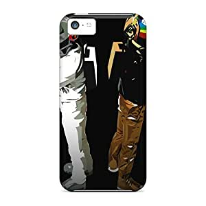XiFu*MeiUltra Slim Fit Hard Mycase88 Cases Covers Specially Made For iphone 5/5s- Daft PunkXiFu*Mei
