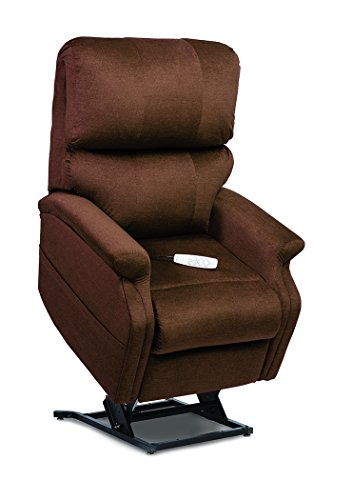Collection Large Lift Chair - Pride LC-525iL (Large) Infinity Collection Lift Chair with True Infinite-Position Seating (Durasoft - Timber, Inside Delivery and Setup)