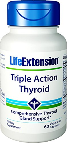 Life Extension Triple Action Thyroid Capsules, 60 Count