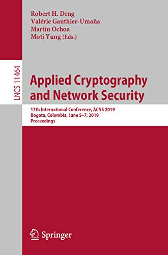 Applied Cryptography and Network Security: 17th