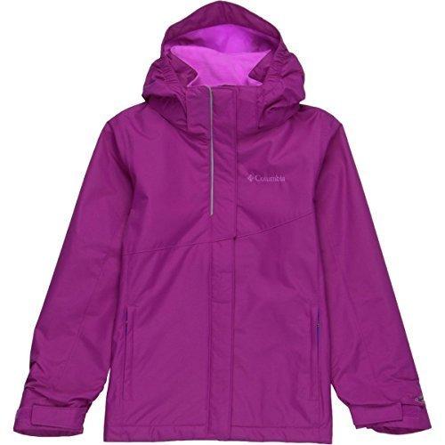 Columbia Sportswear Girls Bugaboo Interchange Jacket, Bright Plum, X-Small (Parka Sportswear Columbia Insulated)
