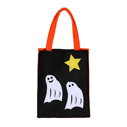 Sinwo Halloween Bat Bag Devil Bag Kids Candy Handbag Bucket Children Tote Halloween Handbag (E) (Top Halloween Films)