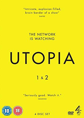 DVD : Utopia (Series 1 & 2) - 4-DVD Box Set ( Utopia - Series One and Two ) [ NON-USA FORMAT, PAL, Reg.2 Import - United Kingdom ]