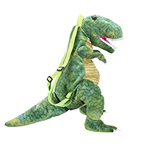 3D Dinosaur Backpack Tyrannosauru School Bag for Parent-Child Girls Boys Kids Children,Ideal Travel Day Shoulder Big…