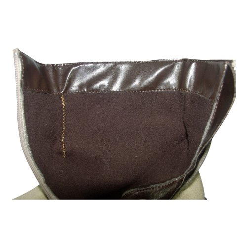 SCHAPURO 15048-306 Damen Schuhe Premium Qualität Trachten Stiefel Beige (Beige)